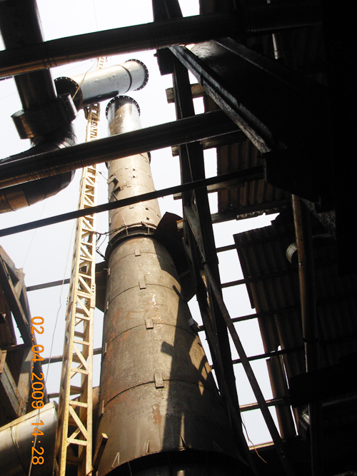 Boiler Chimney Erection